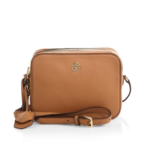 801a65884 Tory Burch Bags | Robinson Pebbled Doublezip Crossbody | Poshmark